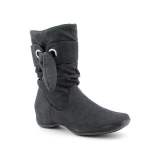 Easy Street Women's 'Appeal' Regular Suede Boots - Wide (Size 10)