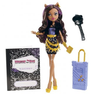 Monster High Travel Scaris Clawdeen Wolf