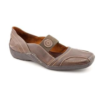Auditions Women's 'Sieben' Leather Casual Shoes - Wide (Size 7.5)