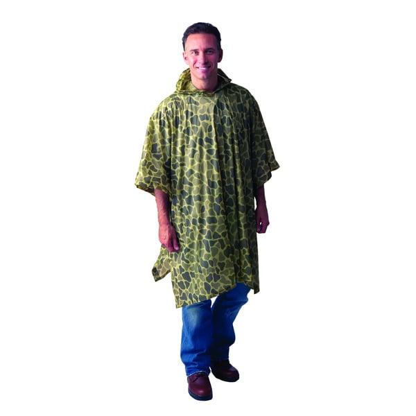 Texsport Vinyl Camouflage Poncho