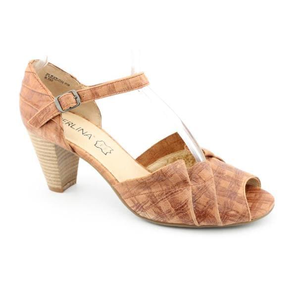Perlina Women's 'Pleat' Leather Dress Shoes (Size 8)