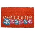Warm Welcome Coir Doormat