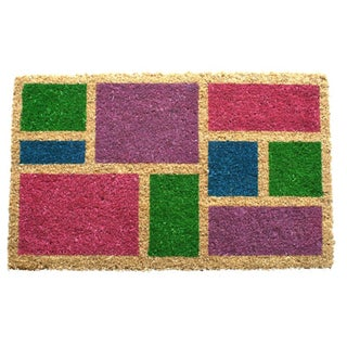 Spring Blocks Coir Doormat