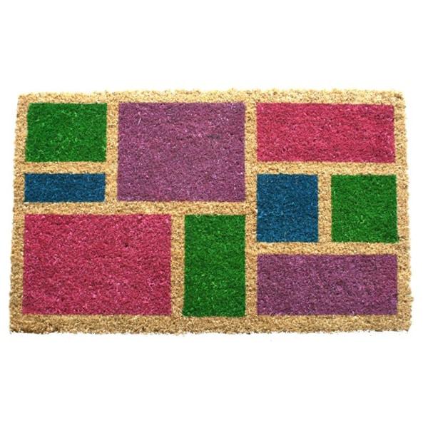 Spring Blocks Coir Doormat