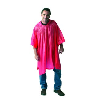 Texsport Vinyl Orange Poncho