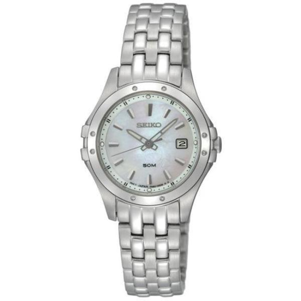 Seiko Women's Gold-plated Steel 'Le Grand Sport' Watch