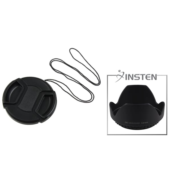 INSTEN Lens Hood/ Lens Cap for 58-mm Cameras