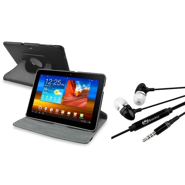 BasAcc Swivel Case/ Headset for Samsung Galaxy Tab 10.1 P7500