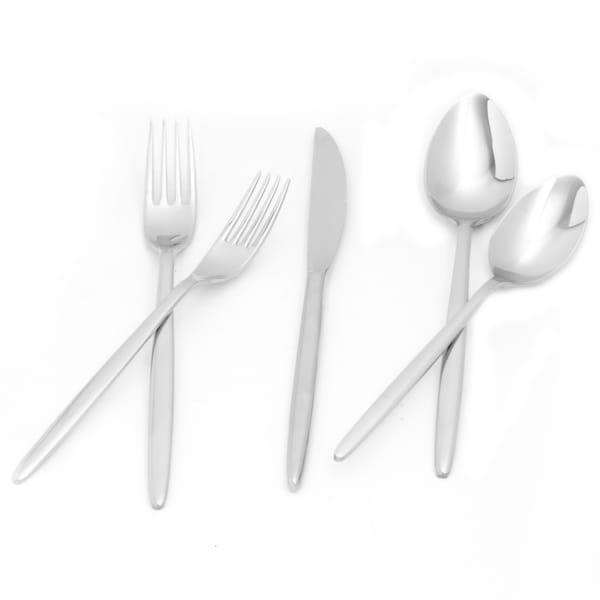 Red Vanilla Olivia 5-piece Flatware Set