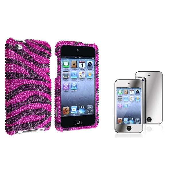 BasAcc Case/ Mirror LCD Protector for Apple iPod Touch 4th Generation