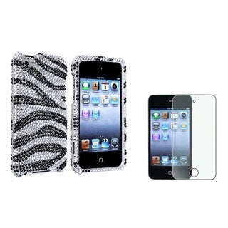 BasAcc Case/ Diamond LCD Protector for Apple iPod Touch 4th Generation