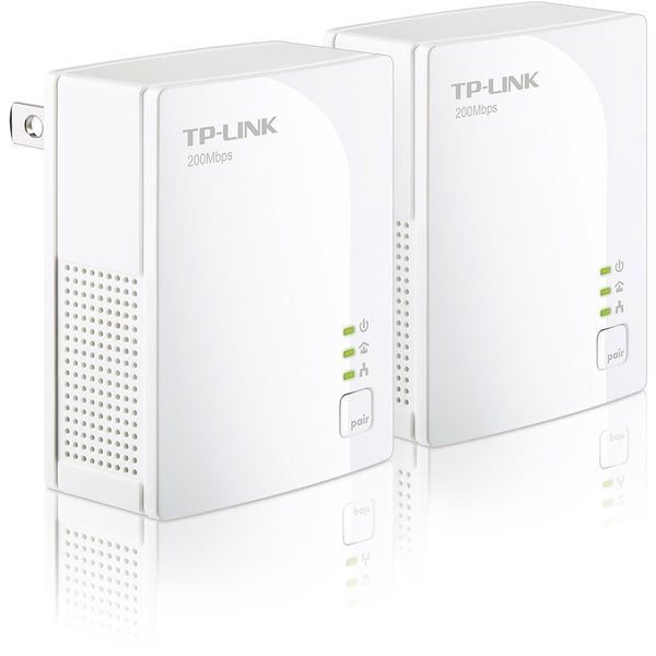 TP-LINK TL-PA2010KIT AV200 Nano Powerline Adapter Starter Kit, up to