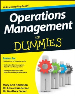 Operations Management for Dummies (Paperback)