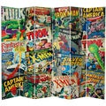 7-foot Comic Book Collection Canvas Room Divider
