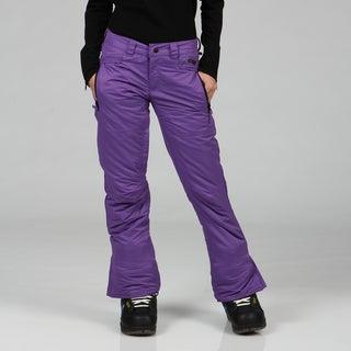 Zonal Women's 'Standoff' Purple Snowboarding Pants