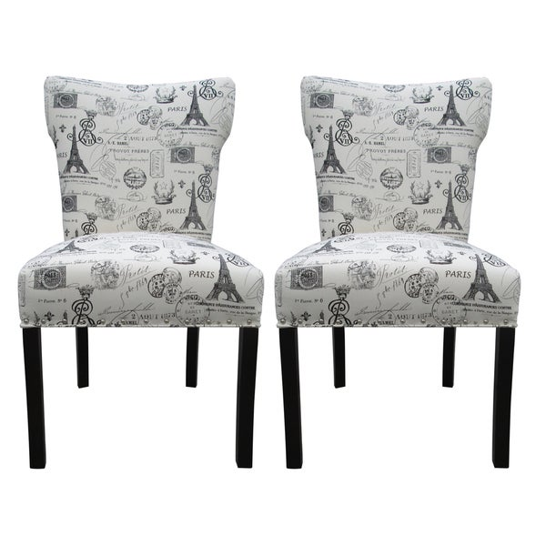 Bella French Onyx Dining Chairs (Set of 2)