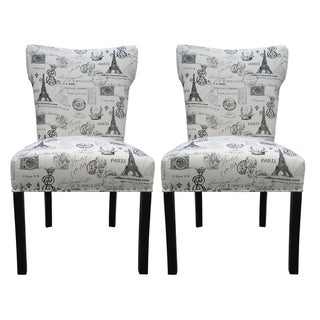 Bella French Onyx Dinning Chairs (Set of 2)