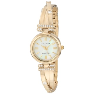Anne Klein Women's Gold Stainless Steel Quartz Watch