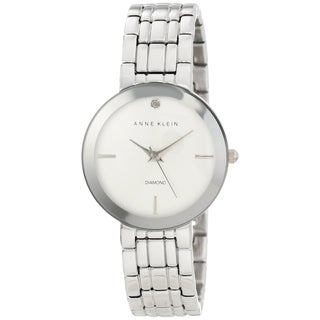 Anne Klein Women's AK-1111SVSV Silver Stainless Steel Watch