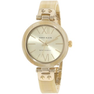 Anne Klein Women's Gold Stainless Steel Watch
