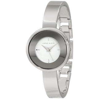 Anne Klein Women's Silver Stainless Steel Quartz Watch