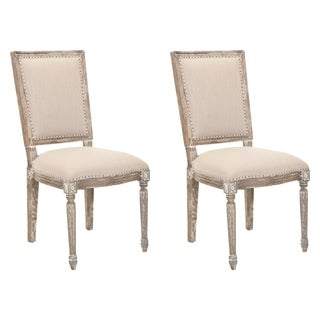 Safavieh Andrew Grey Side Chairs (Set of 2)