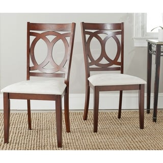 Safavieh Drew White Side Chairs (Set of 2)
