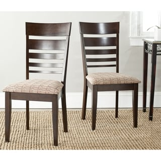 Nino Dark Beige Side Chairs (Set of 2)