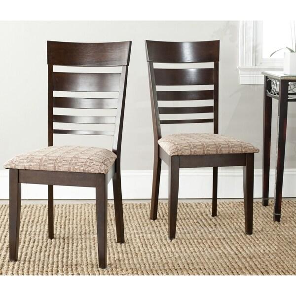 Safavieh Nino Dark Beige Side Chairs (Set of 2)