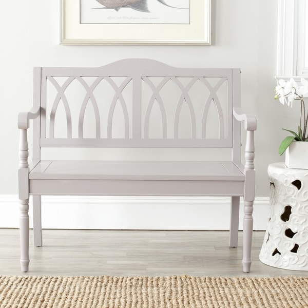Safavieh Benjamin Grey Bench