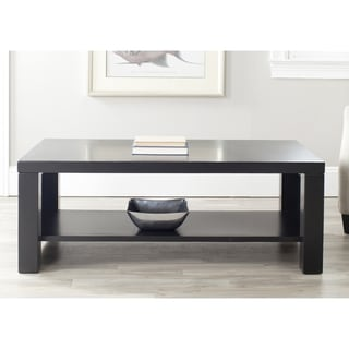 Safavieh Lahoma Black Coffee Table