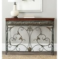 Safavieh Brenda Brown Console Table