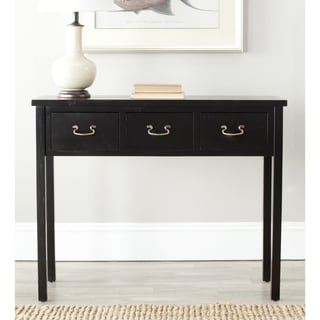 Safavieh Cindy Black Console Table