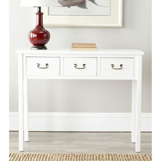 Safavieh Cindy White Console Table