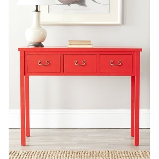 Cindy Red Console Table