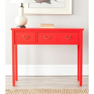 Safavieh Cindy Red Console Table