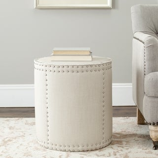 Safavieh Paula Off White Ottoman