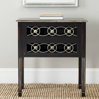 Safavieh Lisa Dark Brown Side Table