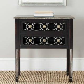Safavieh Lisa Dark Brown Storage Side Table