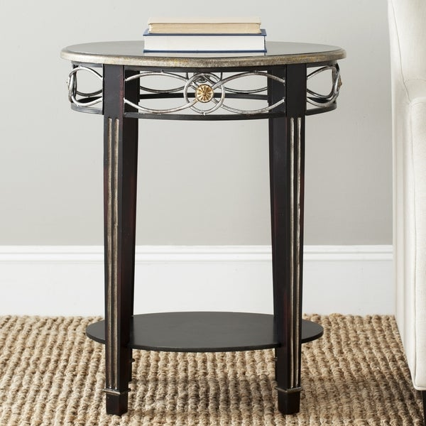 Safavieh Debra Dark Brown Side Table