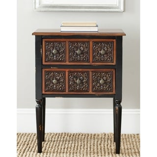 Safavieh Kenneth Dark Brown Side Table