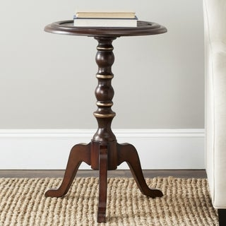 Safavieh Ricky Dark Brown Side Table
