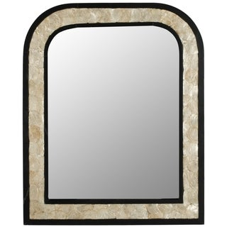 Safavieh Gregory Dark Brown Mirror