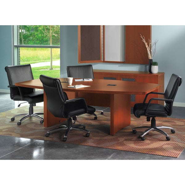 Mayline Aberdeen 6-foot Boat Shaped Conference Table