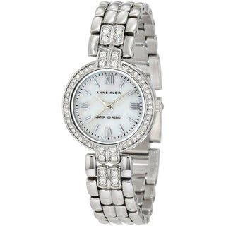 Anne Klein Women's Silver Stainless-Steel Water-Resistant Watch
