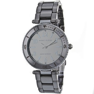 Anne Klein Women's Silver Stainless-Steel Fashion Watch