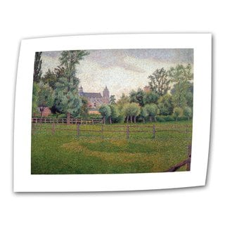 Camille Pissarro 'Church at Gisors' 36x48 Flat Canvas