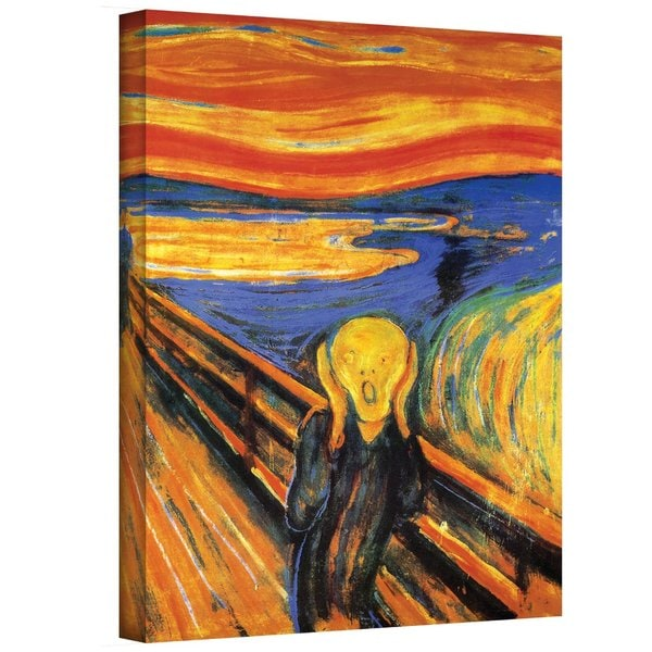 Edvard Munch 'The Scream' Gallery Wrapped Canvas