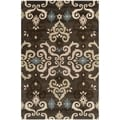 Safavieh Handmade Wyndham Brown New Zealand Wool Rug (5' x 8')