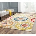 Safavieh Handmade Wyndham Ivory New Zealand Wool Rug (8' x 10')